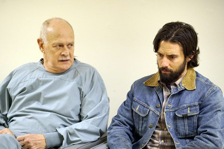 Gerald McRaney as Doctor K, Milo Ventimiglia as Jack (Photo by: Paul Drinkwater/NBC)